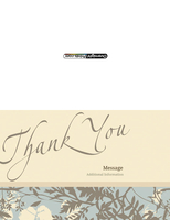 Thankyou_3 Greeting Card (55x85)